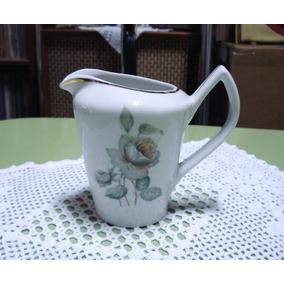 Leiteira Jarrinho Antigo Anos 60 Porcelana Pozzani Lindo