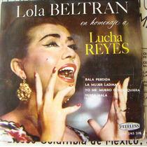Bolero, Lola Beltrán En Homenaje A Lucha Reyes, Ep 7´, Dmm