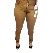 Calça Jeans Feminina Confort Plus Caramelo Ri19 58508