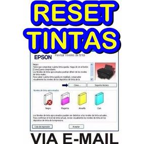 Reset Epson Niveles D Tintas L200 L210 L355 L100 L110 Ilimit