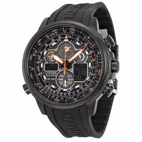 Reloj Citizen Jy8035-04e Navihawk Eco-drive Correa De Caucho