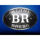 Emblema Touring Club Do Brasil (aço Inox)