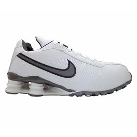 Nike Shox Turbo V Branco E Preto