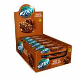 Barra De Cereal Nutry Bolo De Chocolate 4 Caixas