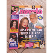 Revista Minha Novela Porto Dos Milagres Lucélia Santos Sandy