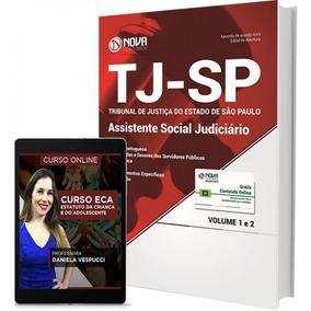 Apostila Tj-sp 2017 - Assistente Social Judiciário