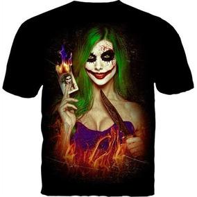 Remera Importada Guason Mujer Joker Batman Original Dc