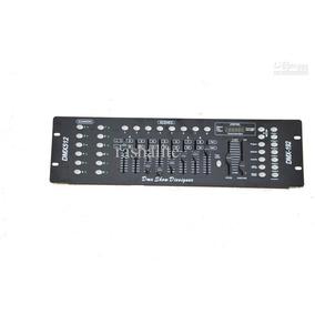 Mesa Controladora Para Eventos Som E Iluminação Dmx512 Com 1