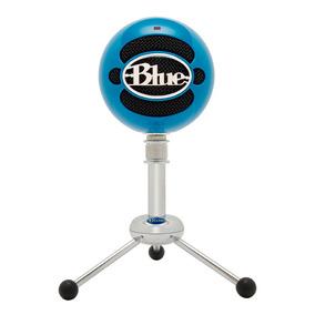 Micrófono Usb Azul Condensador Snowball Eb Blue Microphones