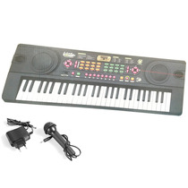 Organo Para Chicos A 220v Incluye Microfono - Trafo - Mp3