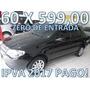 Fiat Siena Fire Flex Completo Zero De Entrada + 60 X 599,00