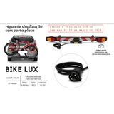 Sinalizador Transbike Suporte Placa Bike Para Sinalização