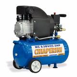 Compressor De Ar 25 Litros 8,5 Pés Bivolt Chiaperini C/ Roda