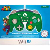 Controle Classic Controller Para Wi Wiiu Original Hori Mario