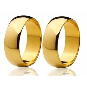 Promoção Par De Alianças De Casamento Ouro 18k 5mm 6 Gramas