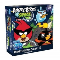 Rompecabezas Super 3d Angry Birds Marca Novelty