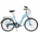 Bicicleta Durban Fenix Azul Alumínio Aro 26