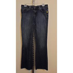 Pantalon De Mezclilla Aeropostale Para Dama Talla 5/6 Azul