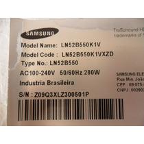 Placa Fonte Tv Samsung Ln52b550k1v Bn44-00267a Rev-1.2