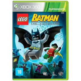 Lego Batman The Videogame Xbox 360 Fisica Lacrado Nfe