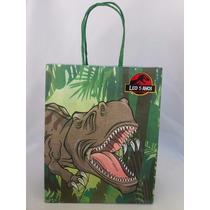 Sacola De Papel Dinossauro