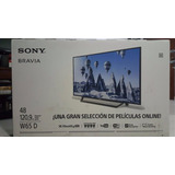 Pantalla Sony Bravia 48 Nueva - Modelo Kdl-48w650d