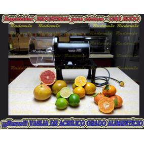 Exprimidor - Extractor Naranjas Acrílico Uso Rudo Industrial