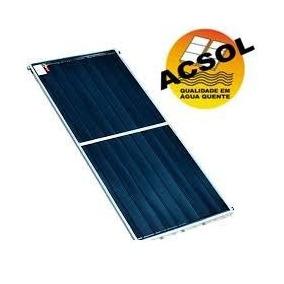 Placa De Aquecedor Solar 2x1