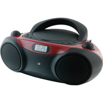Boom Box Gpx Bc232r Reproductor De Cd