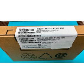 Placa De Rede Intel Pro/1000 Mt Pwla8492mt 2 Rj-45 Gbe Pci-x