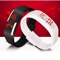 Relógio Digital De Led Bracelete - Tela Sensível Ao Toque