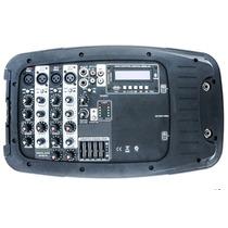 Bocinas Amplificador & Mezcladora Bluetooth Usb Sd Consola