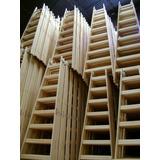 Escalera De Madera Reforzada Tipo Pintor 17 Escalones Oferta