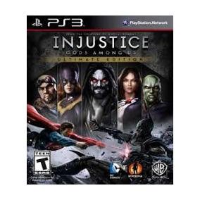 Injustice : Gods Among Us Dublado Digital Ps3