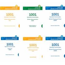 Coleção 1001 Questões Envio Imediato Por Email Grátis