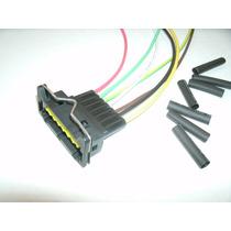 Conector Soquete Plug Chicote Kombi Com Code 07 Vias Femêa