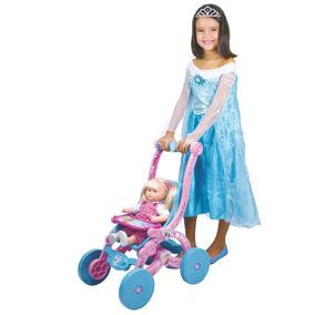 Carrinho De Boneca Frozen Lider Brinquedos