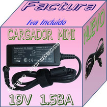 Cargador P/laptop Toshiba Mini Nb505 Sp0166lm 19v 1.58a