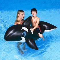 Bestway Ballena Orca Gigante Inflable Flotador Tienda Pepino