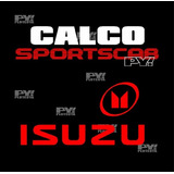 Calco Isuzu Cabina Y Media Sport Cab Space Cab Calcomania