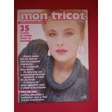 Revista Mon Tricot 35 Receitas De Tricô Crochê E Bordados