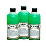 Ferrox Removedor Ferrugem Neutralizador Ferro Pintura 500ml