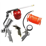Kit Compressor De Ar Com Pistola Pintura 5 Peças Wpkit5 Pres