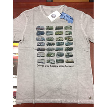 Playera Vw Combi Drives You Happy Since Forever
