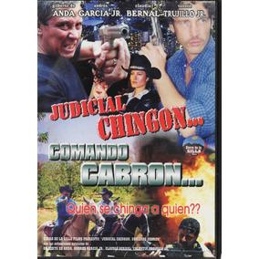 Judicial Chingón Comando Cabrón   Valentín Trujillo Jr.1 Dvd