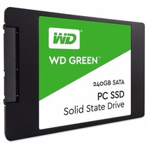Ssd Wd Green 2.5´ 240gb 7mm Pc Desktop / Laptop Notebook