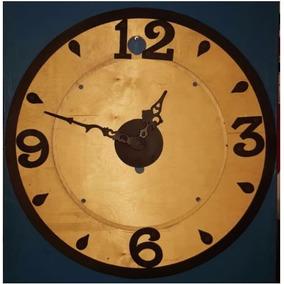 Reloj Decorativo Para Jardín (madera Y Metal) - Envío Gratis