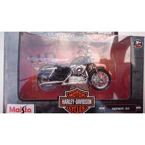 Moto Harley Davidson 1/18 Maisto Mod 2013 Xl 1200v Seventy-t