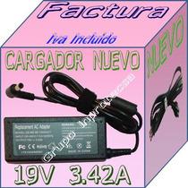 Cargador Compatible Toshiba L505 L500 19v 3.42a Mmu Dmm