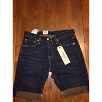 100% Auténticos Levis 511 Slim Cut- Off Men Shorts Size 29